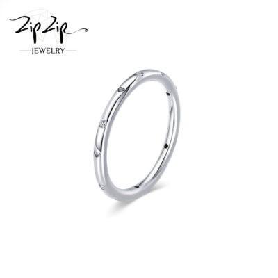 """טבעת כסף 925 """"מולי"""" בשילוב אבני זרקוניה מרוחקים וחריטת לב RZ406"""