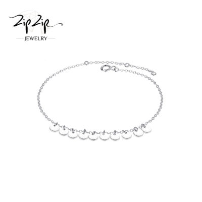"""עגילים צמודים כסף 925 """"אנה"""" מעגל החיים זרקונים בולטים"""
