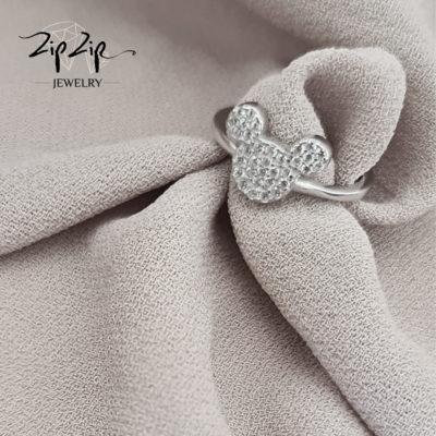 """טבעת כסף 925 """"ג'וד"""""""